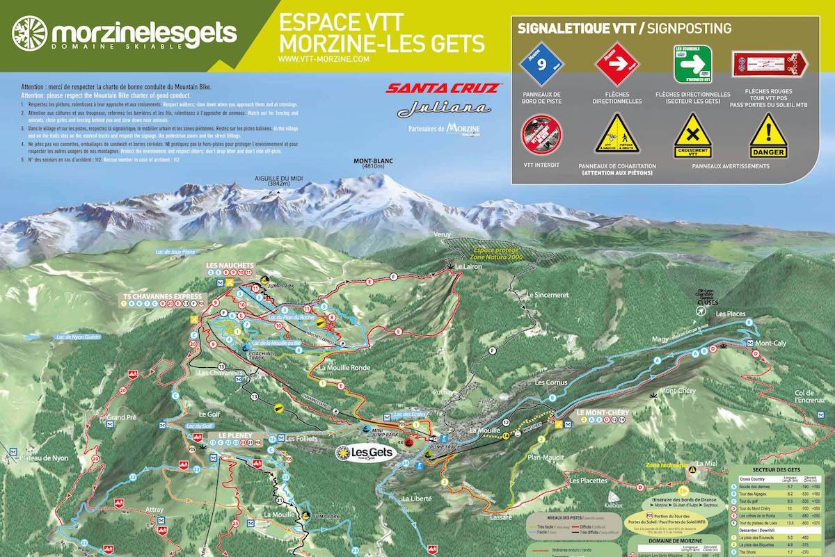 Plan de Morzine / Les Gets VTT